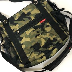 Skip Hop Duo Diaper Bag Green Camo